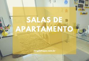 11 Salas pequenas de apartamento