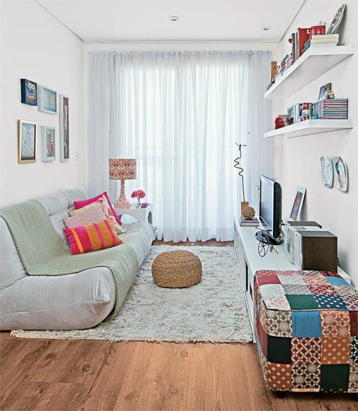 salas pequenas de apartamento 01