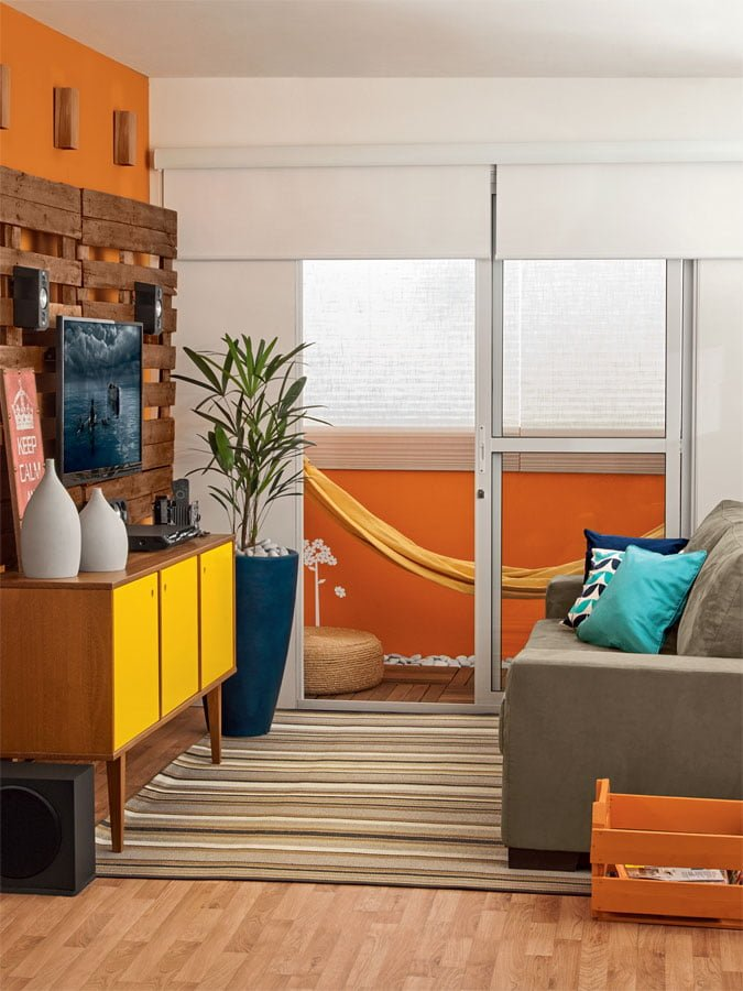 salas pequenas de apartamento 12