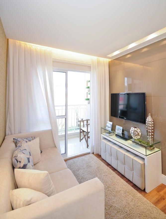 salas pequenas de apartamento 3