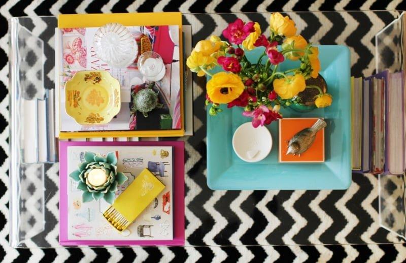 como decorar mesa de centro 11