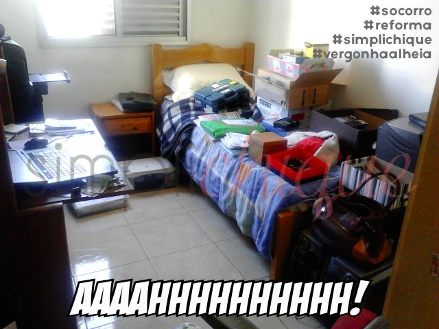 simplichique quarto hóspedes