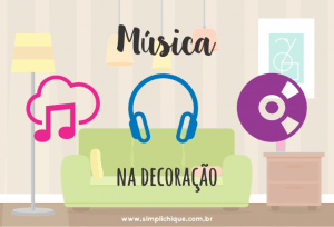 Como montar uma decoração musical incrível na sua casa