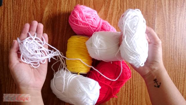 diy decoração com lã simplichique