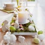 Ideias de decoração de mesa para a Páscoa