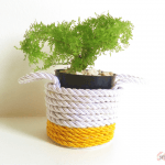 {VEDA 2016} DIY – Mini cestinhas de corda