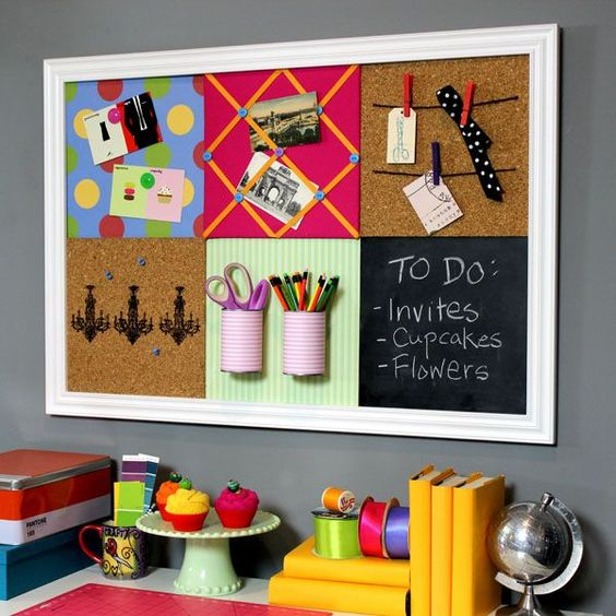 Home Design Ideas Blackboard: Ideias De Mural Criativo Para Seu Home Office