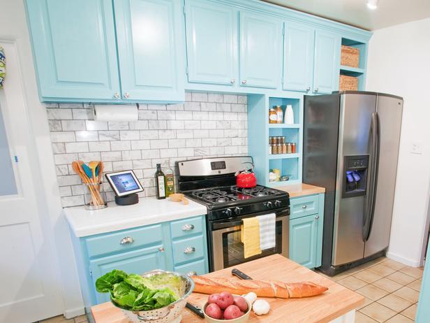 armário de cozinha colorido 08