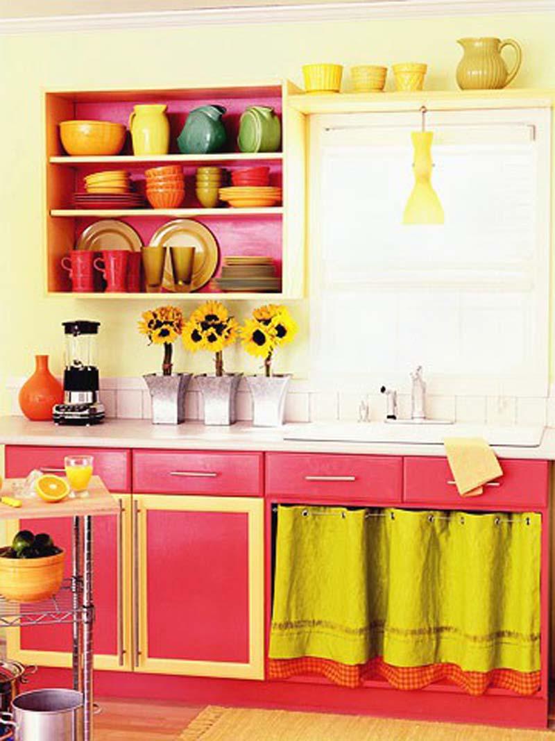 armário de cozinha colorido 09a