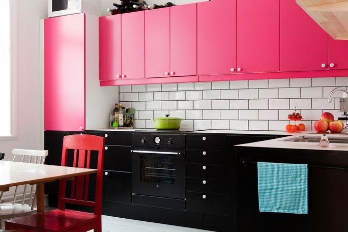 armário de cozinha colorido 13a