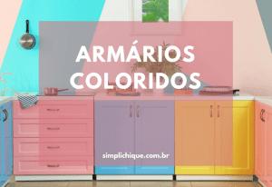 Armário de cozinha colorido: inspirações e dicas para fazer em casa