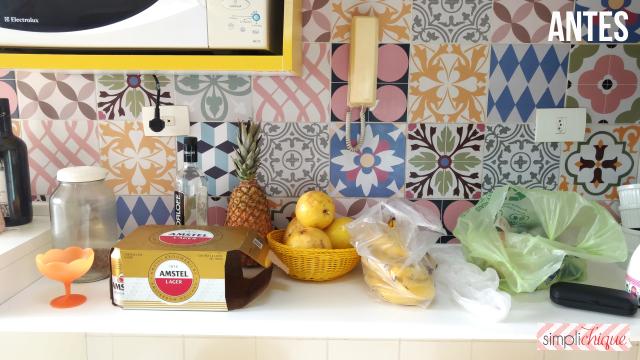 casa arrumada cozinha antes simplichique