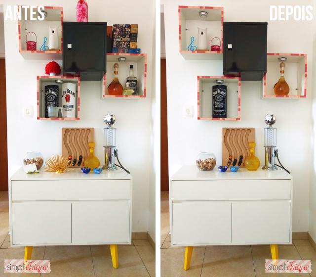 casa arrumada sala de jantar antes e depois simplichique