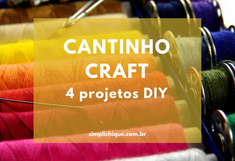 4 ideias práticas para organizar seu cantinho craft