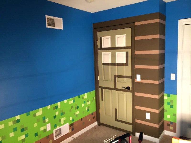 Como fazer um quarto tem tico de minecraft para as for Cuartos decorados minecraft