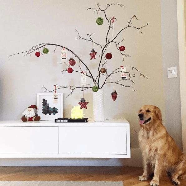decoração de Natal instagram 04