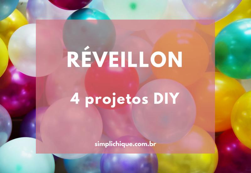 4 DIYs fáceis para sua decoração de festa do Réveillon