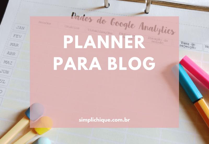 Download planner 2017 para blogueiras e blogueiros