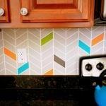 Como fazer uma parede linda na cozinha gastando pouco
