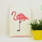 DIY Coletivo: Quadro de flamingo com mosaico de papel