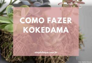 Kokedama: passo a passo para você aprender