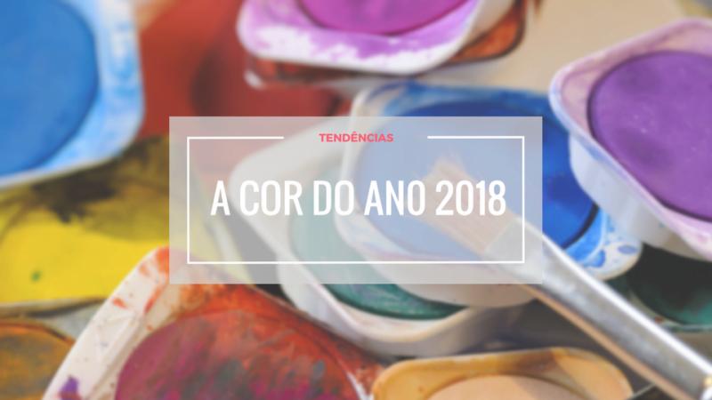cor do ano 2018