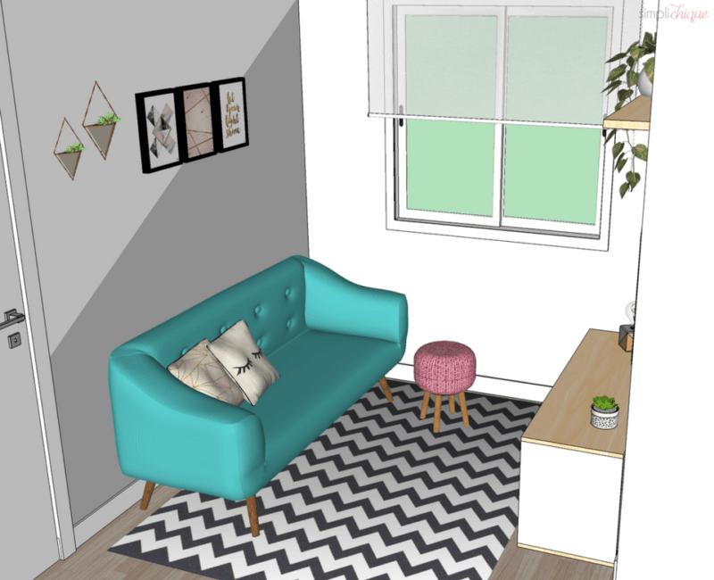 móveis para sala pequena