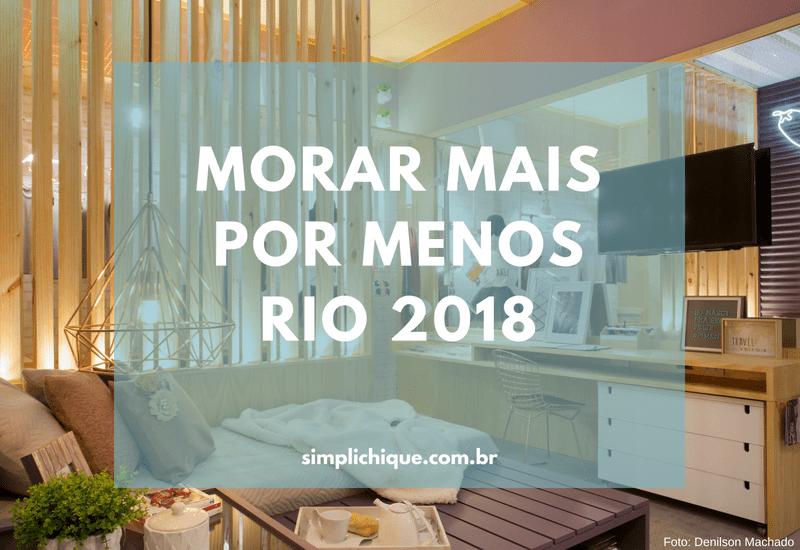 Morar Mais: dicas de decor acessível na mostra carioca