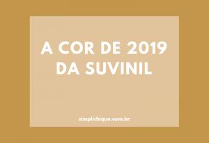Quentão: a cor do ano 2019 da Suvinil