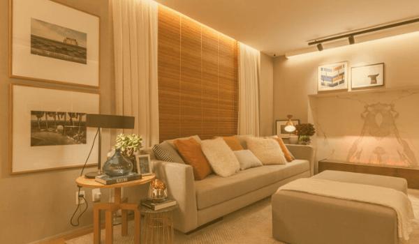 Cortinas e persianas: o que é indicado para sala de estar