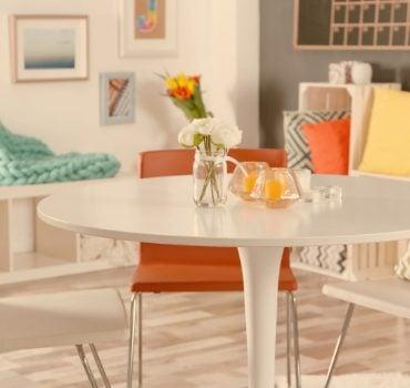 Mesa de jantar: como escolher o formato ideal?