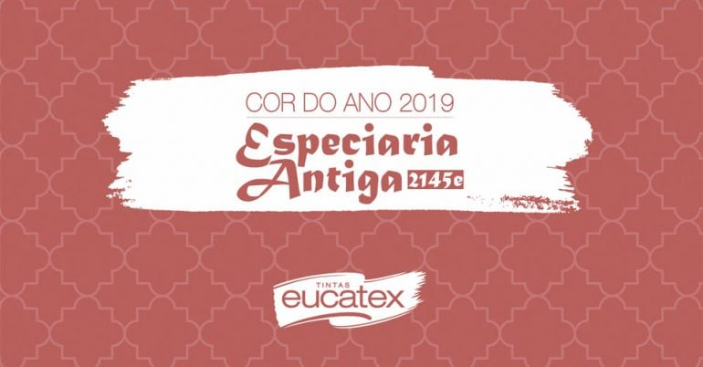 Especiaria Antiga: a cor do ano 2019 da Eucatex