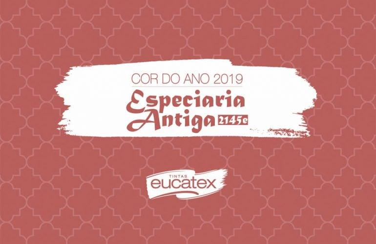 Especiaria Antiga: a cor do ano 2019 da Eucatex