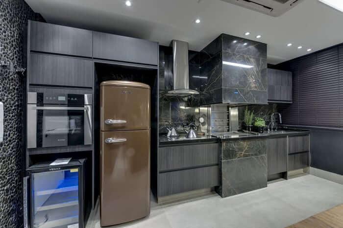 Geladeira: modelos diferentes para decoração de cozinha