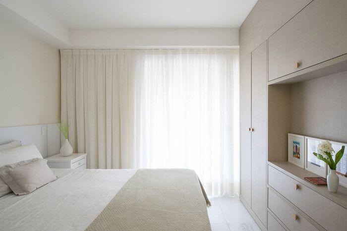 decoração de quarto clean