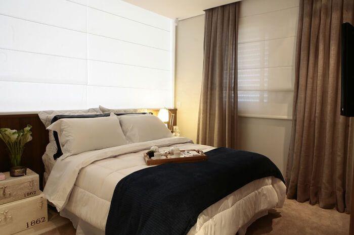 colchas para decoração de quarto de casal