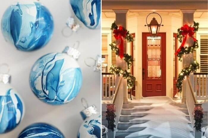 decorar varanda no natal