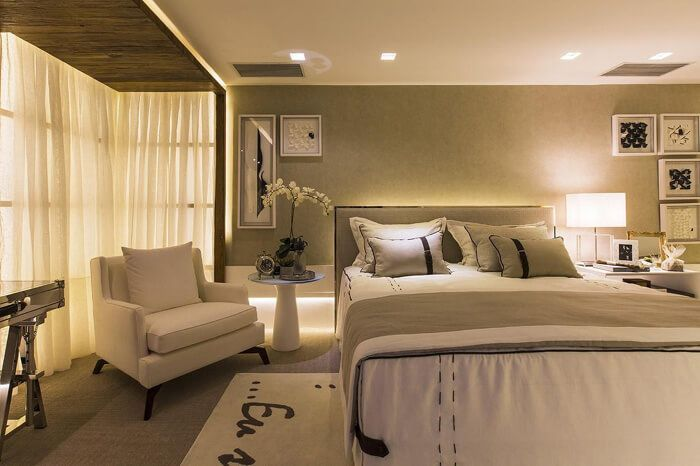 cama para quarto de casal