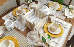 Dicas de decoração: como valorizar a mesa de jantar da casa