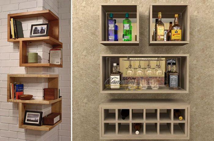 Veja como usar nichos de madeira em decoração de cozinha