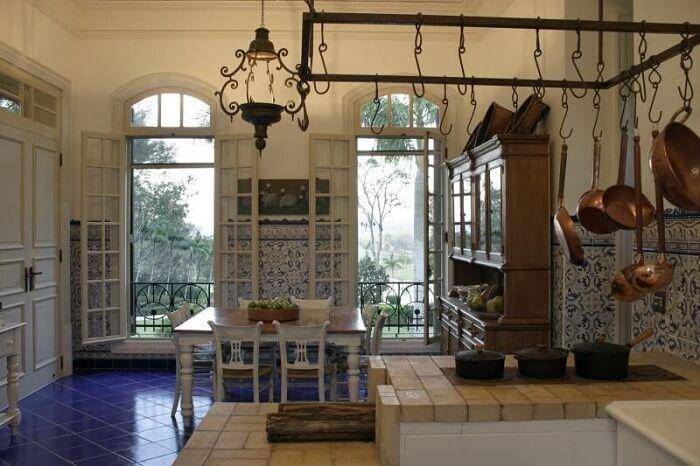 Decoração rústica inspirada na casa de campo brasileira